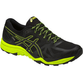 asics Gel-Fujitrabuco 6 G-TX Shoes Men Black/Safety Yellow/Black